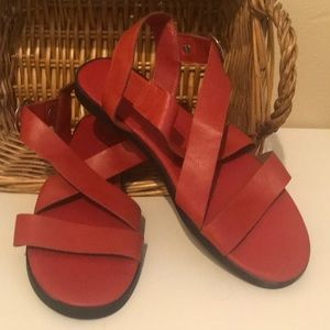 Women's Coral Strappy Sandals- Size 8